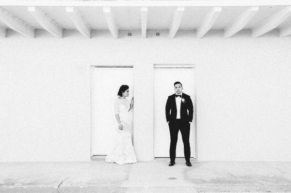 Hochzeit - Chic St. Augustine Wedding At The White Room