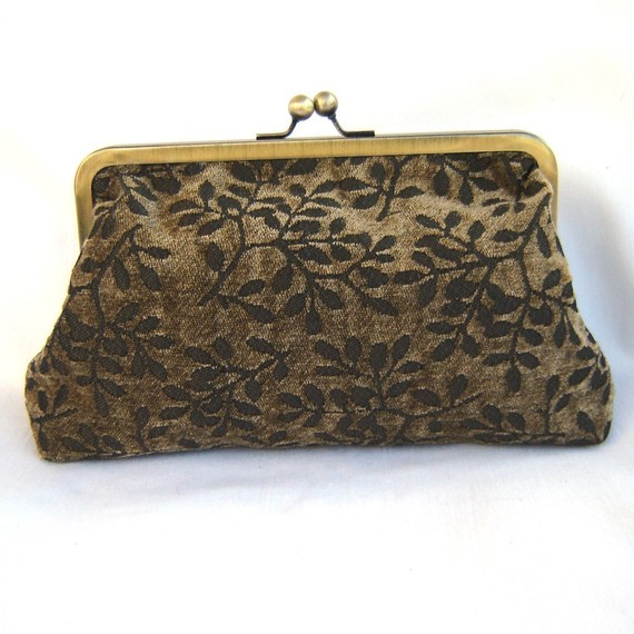 Wedding - SALE - Was 42.00 - Vintage Feel Clutch