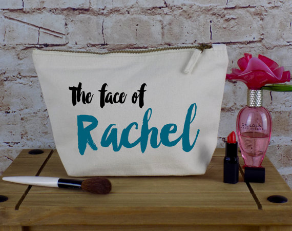 Personalised Make Up Bag Or Wash