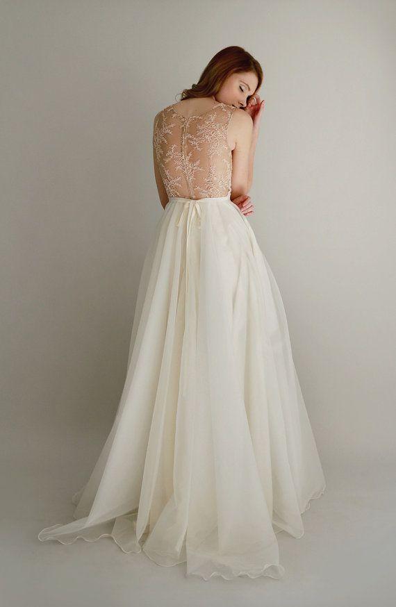Düğün - Lace And Organza Gown - Danielle