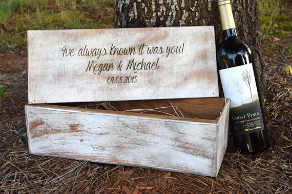 Wedding Ceremony Gift: Wedding Ceremony Wine Box
