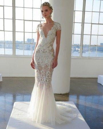 Marchesa Fall 2016 Wedding Dress Collection