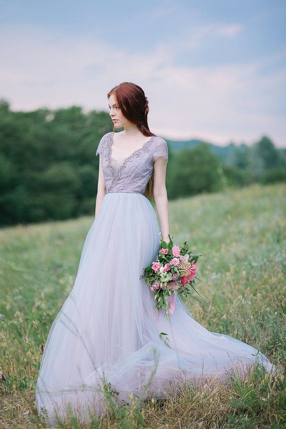 Wedding - 6 Coloured (but Subtle) Wedding Dresses You Will Fall In Love With!
