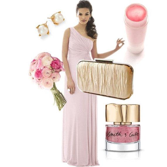 Mariage - blush weddings, gold clutch, blush bridesmaids, gold and blush wedding, champagne clutch, box clutch, gold minaudiere, blush bridesmaid gift