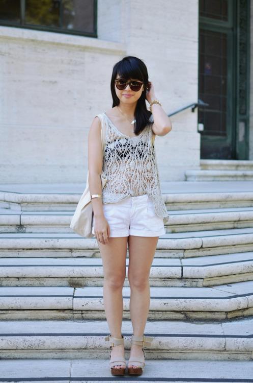 Mariage - lightweight whites fashion blog - Global Streetsnap