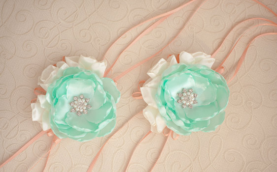 Свадьба - Corsage Wrist, Corsage Mother of the Bride, Bridesmaids Corsage Wirst