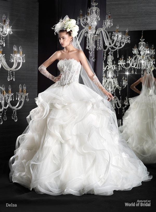 زفاف - Jean le Roi Collection : Delsa 2015 Wedding Dresses