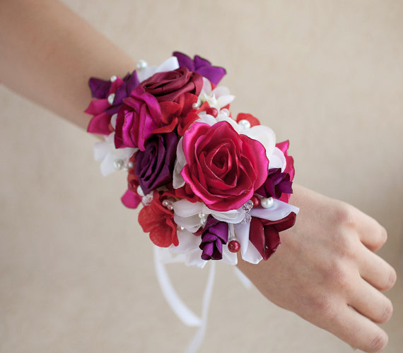 Mariage - Corsage Wrist, Corsage Mother of the Bride, Bridesmaids Corsage Wirst