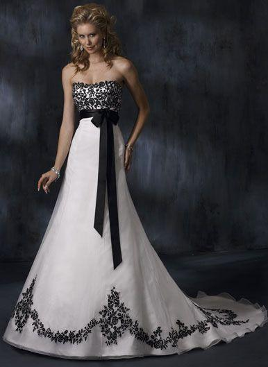 Mariage - Black White Dresses