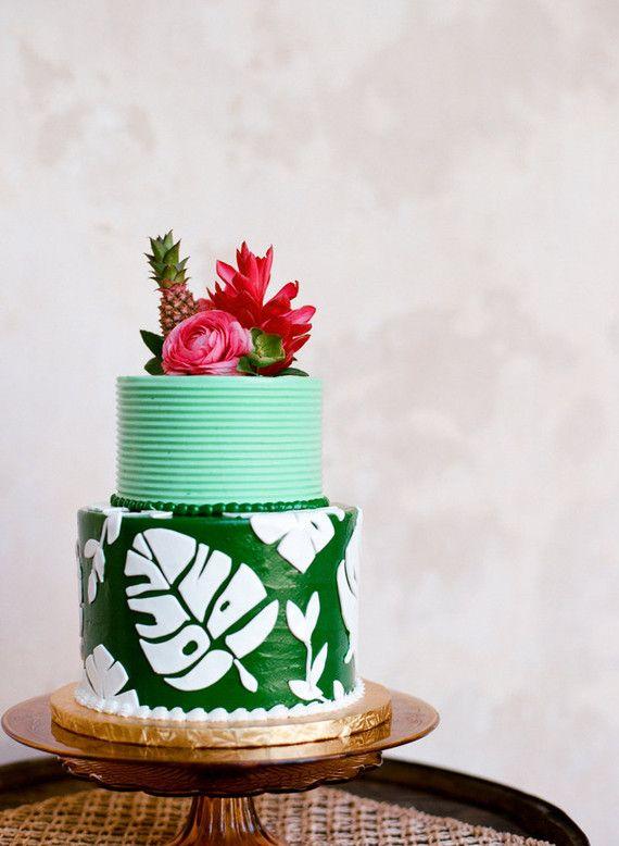 Tropical Fall Wedding Inspiration