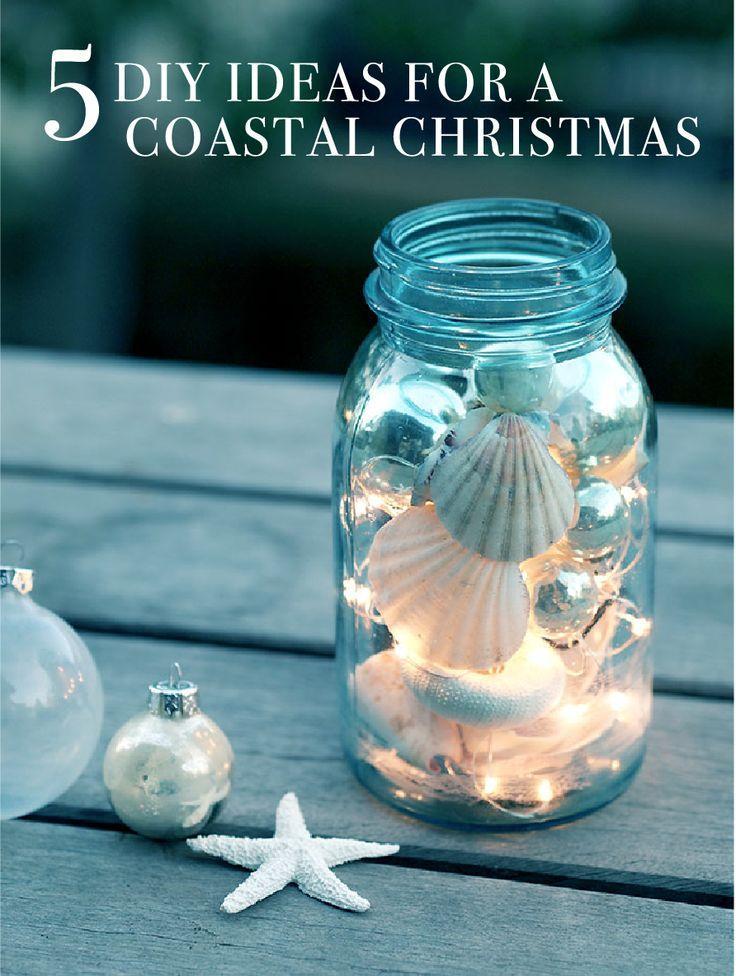 Wedding - 5 DIY Ideas For A Coastal Christmas