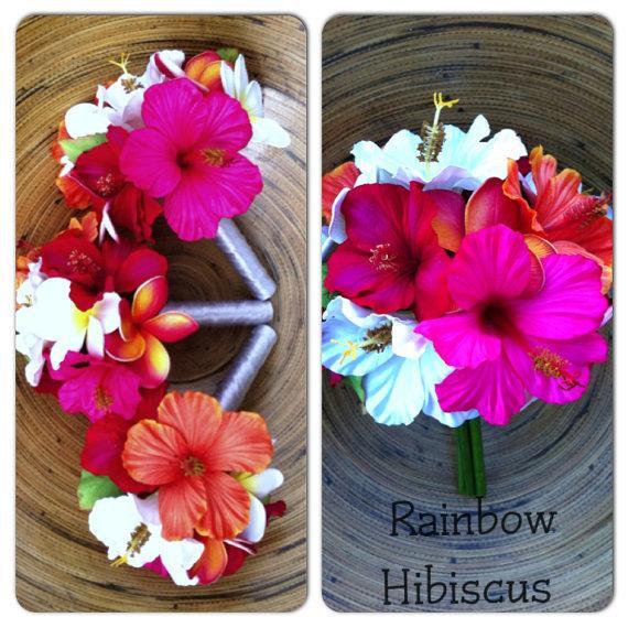 Hochzeit - Rainbow Hibiscus Package