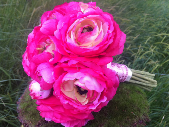 Hochzeit - Whimsical Brides Bouquet