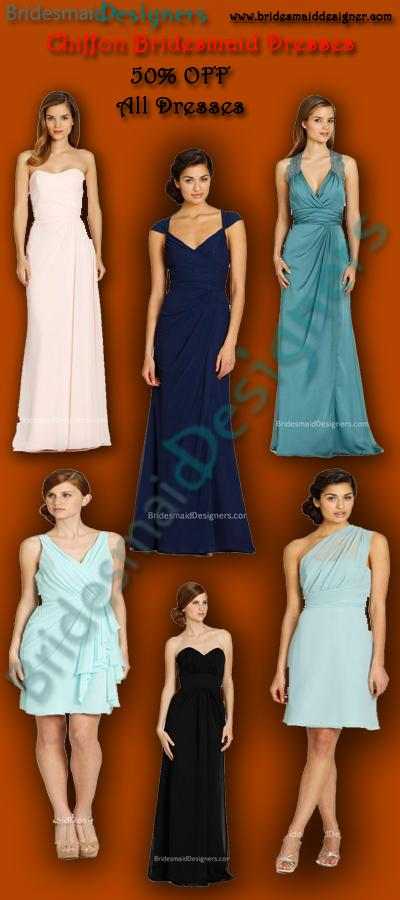 Wedding - Beautiful Chiffon Bridesmaid Dresses