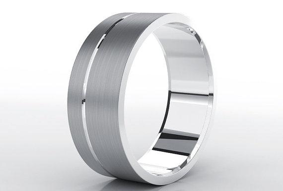 Свадьба - Titanium Wedding Band, Men Titanium Rings, Mens Wedding Band, Titanium Wedding , Titanium Engagement Ring, Wedding Bands, Titanium Women