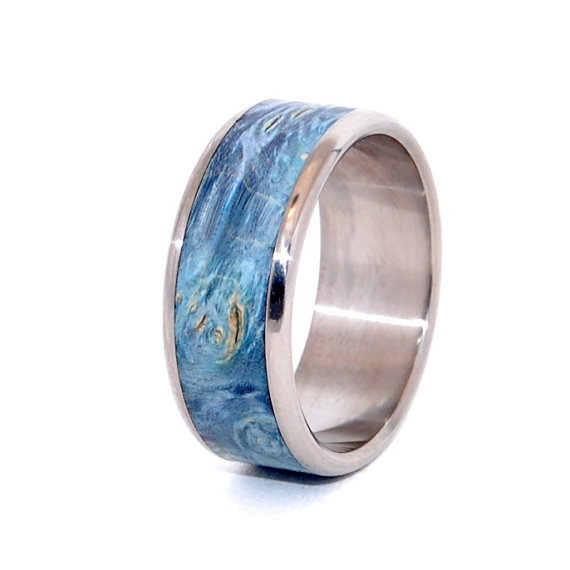 Mariage - All that We See - Wooden Wedding Rings