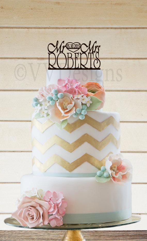 Свадьба - Wedding Cake Topper Wedding Decor