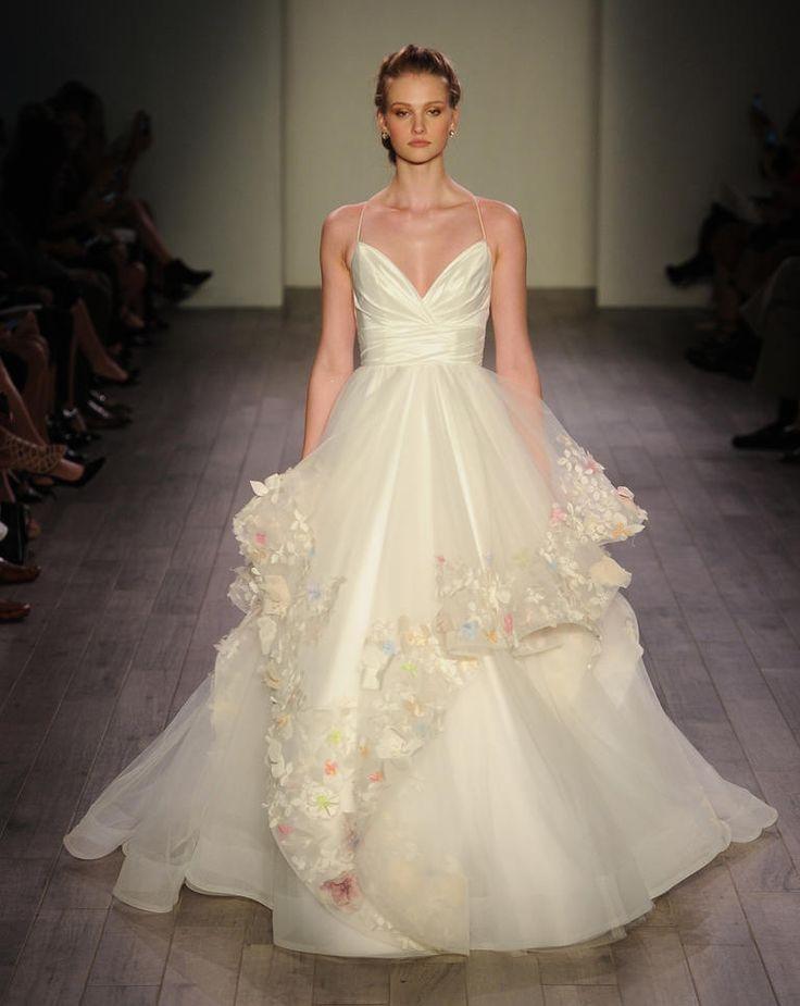 Wedding - Hayley Paige Shows Lively, Feminine Wedding Dresses For Fall 2016