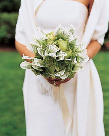 Wedding - Green Wedding Bouquets