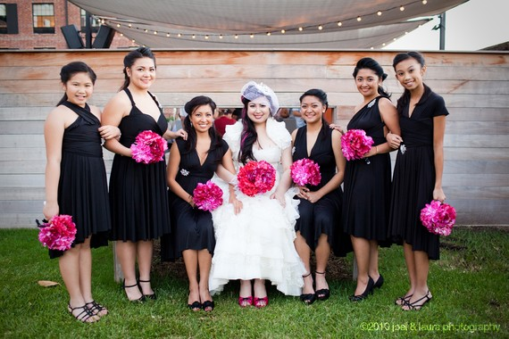 Mariage - Black Convertible Bridesmaid Infinity Dresses