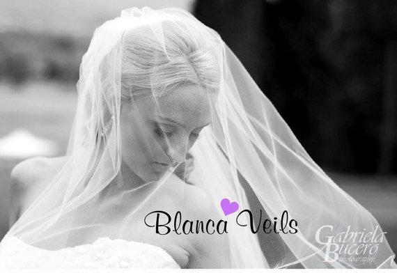 زفاف - Sheer 2 Tier Wedding Veil