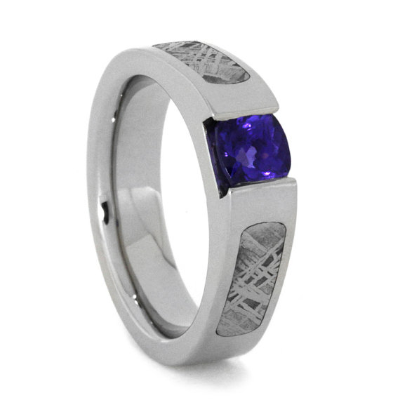 Свадьба - Meteorite Engagement Ring
