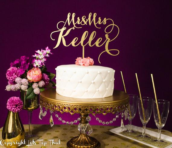 زفاف - Wedding Cake Topper