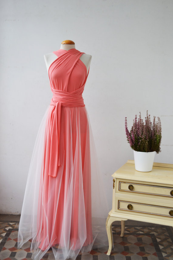 Hochzeit - Tulle bridesmaid dress, add a tulle skirt to your bridesmaid or event dress, tulle skirt under or over your dress, detachable tulle skirt