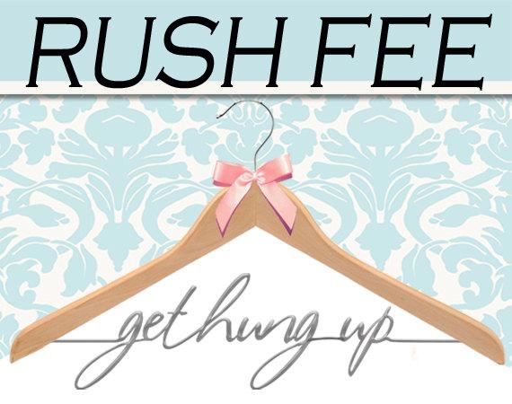 Mariage - RUSH FEE