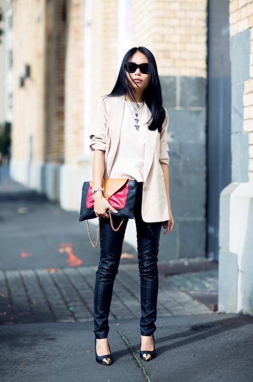 Boda - peplum fashion blog - Global Streetsnap