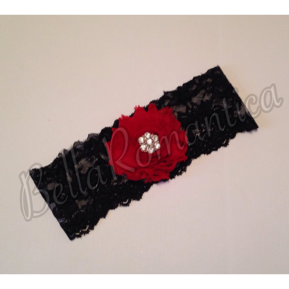 Red And Black Garter