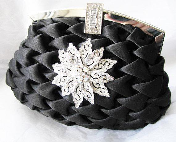 Mariage - Wedding Clutches, Bridal Clutch, Bridesmaids Clutch, Prom Clutch, Evening Clutch, Formal Clutch, Party Clutches, Accessories, Satin Clutch,