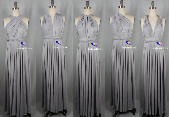 Wedding Wrap Convertible Dress