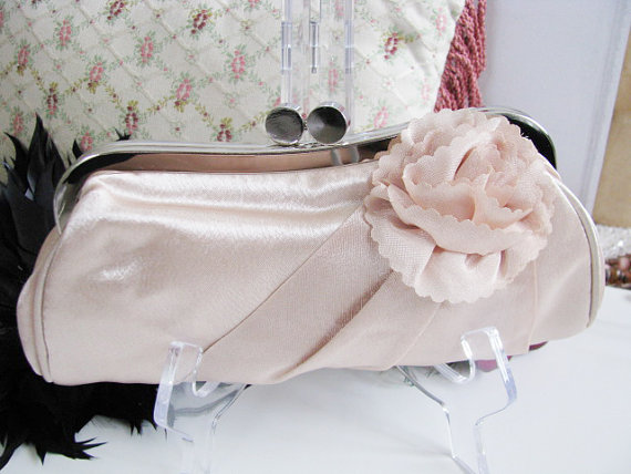 Wedding - bridal, clutches, Weddings, bridesmaid, Wedding clutch, Bridesmaid purse, beige clutch, wedding purse, Bags and purses, White Clutch