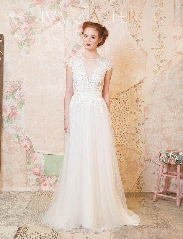 Wedding - 'Through The Flowers' Spring 2016 Bridal And Accessories Collection By Ivy & Aster
