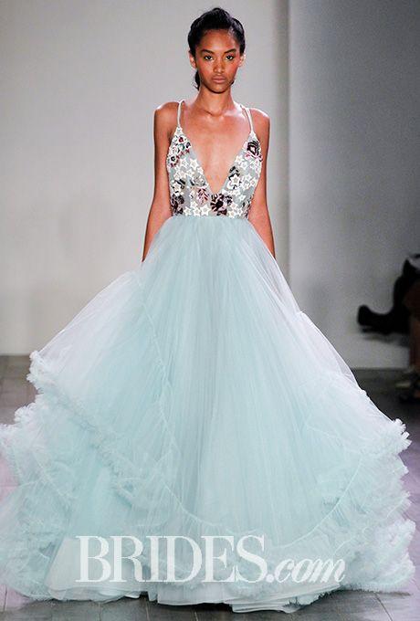 57d5fd1a62fbb Salt And Honey By Hayley Paige Wedding Dresses - Fall 2016 - Bridal Runway  Shows - Brides.com