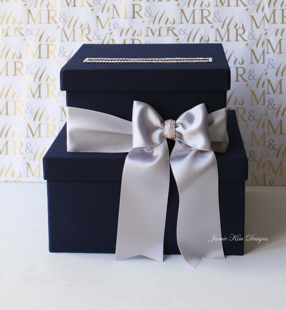 Wedding Card Box Money Box Wedding Box Gift Card Holder Custom – Wedding Money Card Box