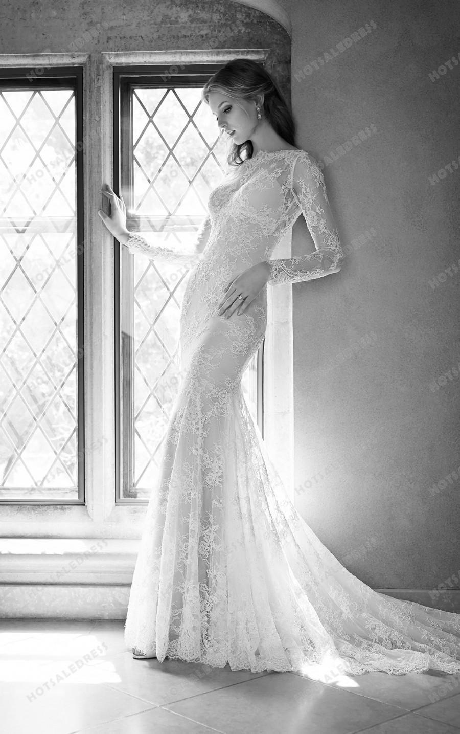 Свадьба - Martina Liana Low Back Wedding Dress Style 700