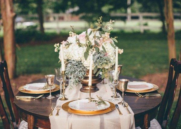 Mariage - Pastel Garden Bridal Inspiration At Tuckahoe Plantation