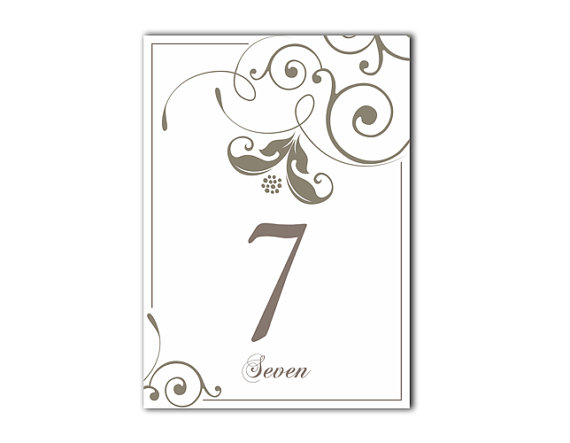 picture regarding Free Printable Table Numbers 1-20 identified as Desk Quantities Marriage ceremony Desk Figures Printable Desk Playing cards