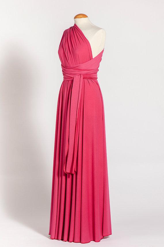 67f927069e3 SALE Pink Bridesmaid Dress