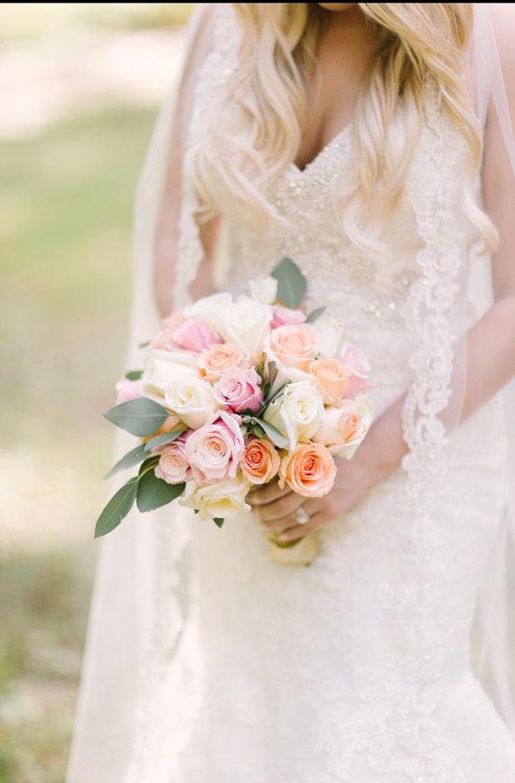 Wedding - Delicate Lace Veil