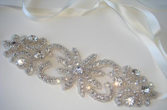 Mariage - Bridal Headband- MADEMOISELLE, Crystal Headband, Headband, Wedding Accessories, Hair Accessory, Bride, Wedding Headband, bridal, accessories