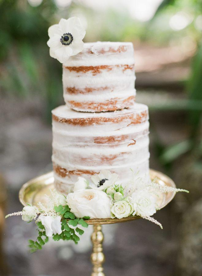 Cake Moody Secret Garden Wedding Inspiration 2390173 Weddbook