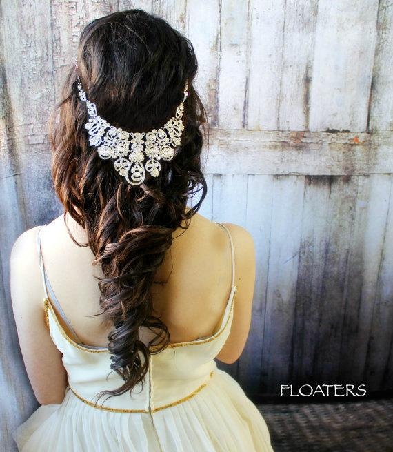 Mariage - Wedding pearl headpiece, wedding headband, pearl headpiece, wedding hair accessories, wedding hair jewelry