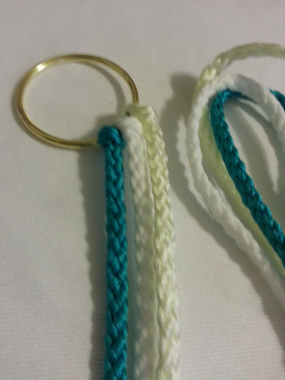 Mariage - Cord of Three Strands Divinity Braided Cord with Bow ~ Customize your colors