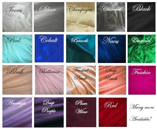 Свадьба - IN STOCK silk choices for your wedding clutch bridesmaids bridal