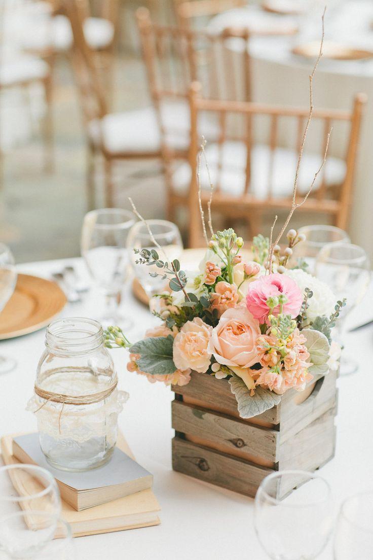 20 best wooden box wedding centerpieces for rustic weddings 2391913 rh weddbook com wooden boxes for wedding centerpieces for sale