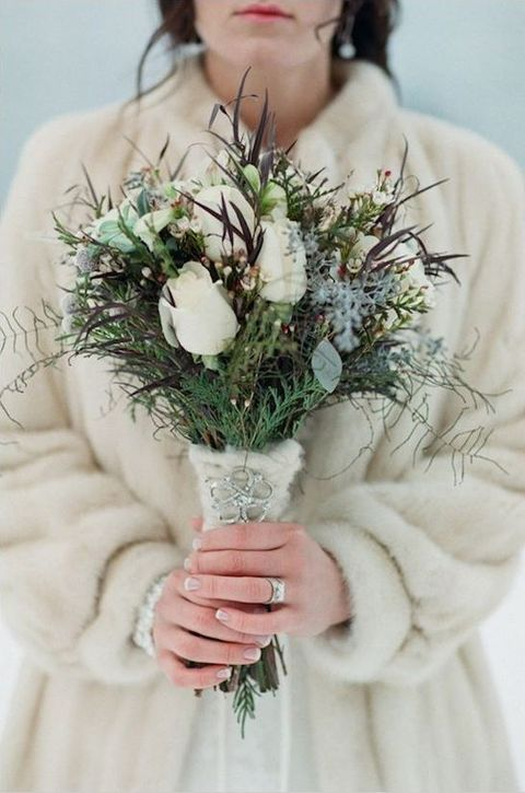 Wedding - How To Use Fur For Your Wedding: 43 Ideas
