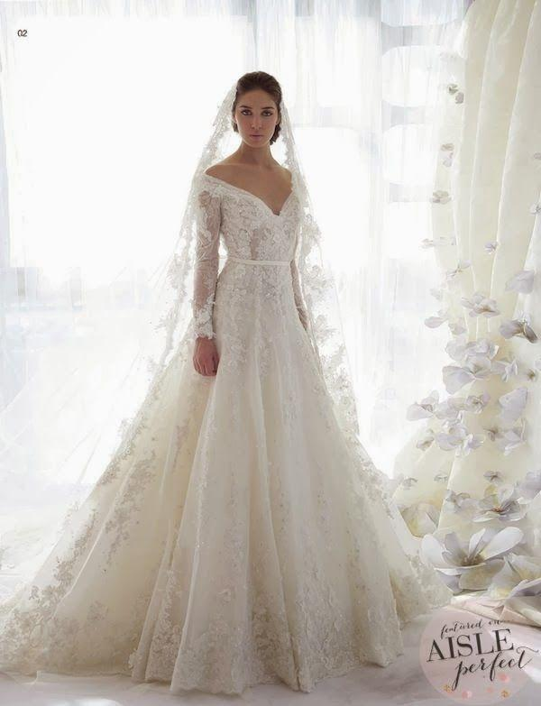 20 pretty perfect long sleeve wedding gowns 2392040 weddbook 20 pretty perfect long sleeve wedding gowns junglespirit Choice Image